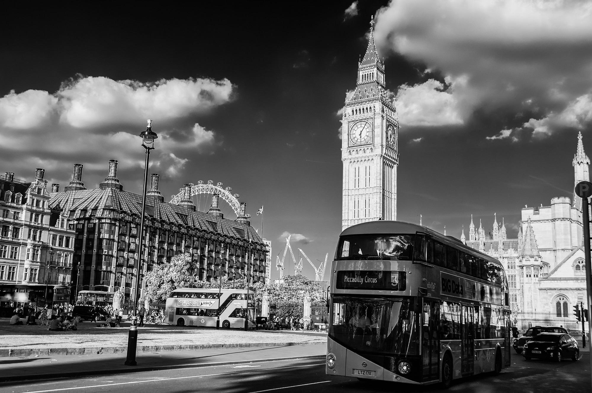 Big Ben von Westminster Abbey aus gesehen