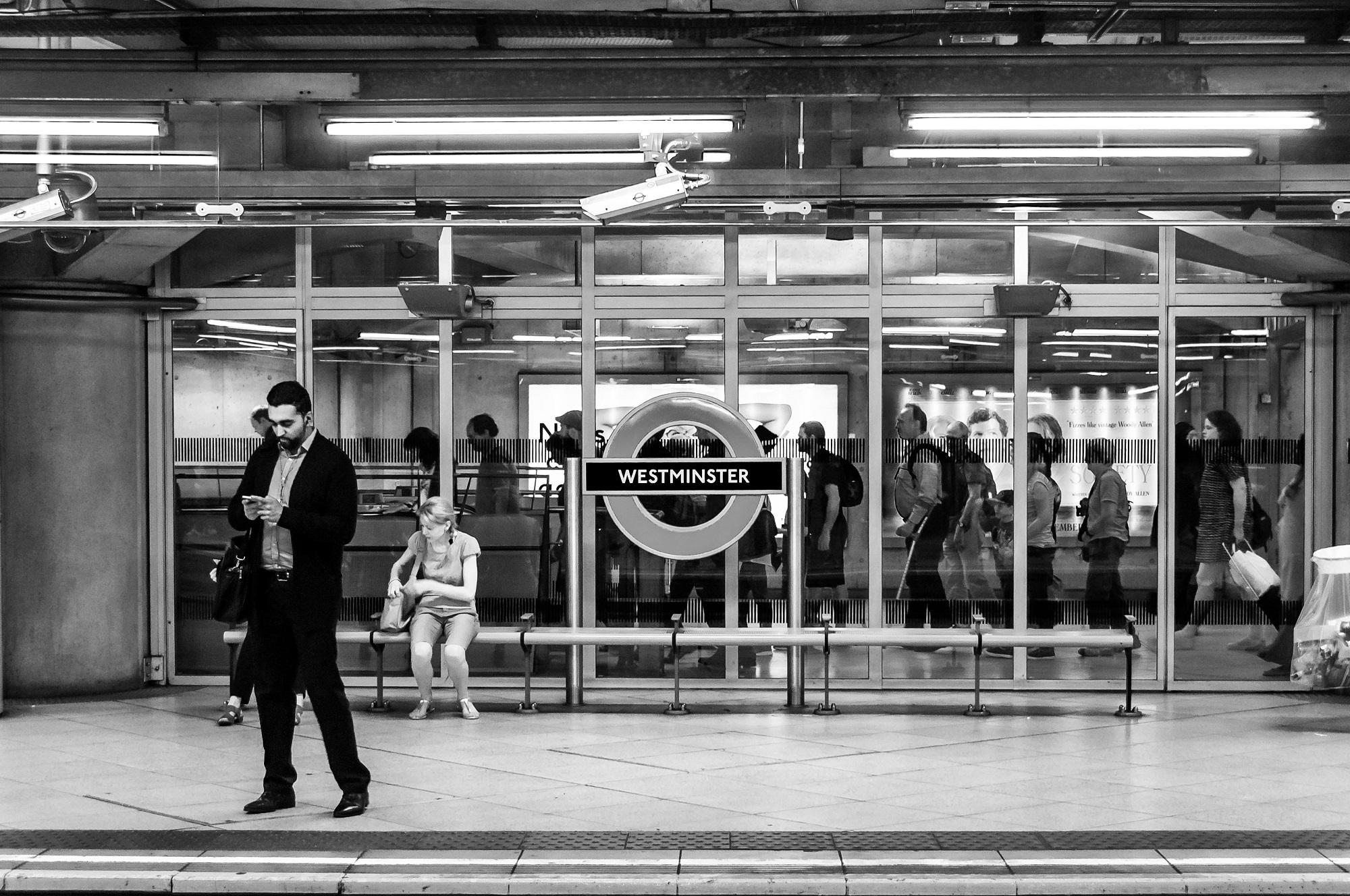 Undergroundstation Westminster