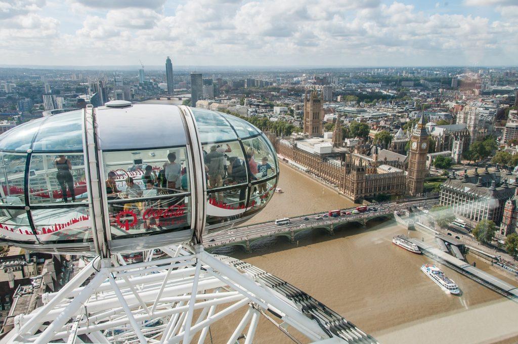 Fahrt im London Eye